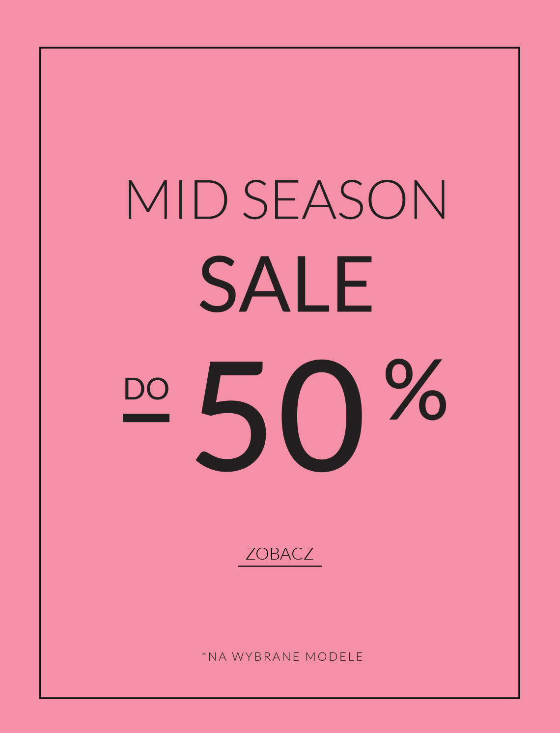 Mid Season Sale FW18